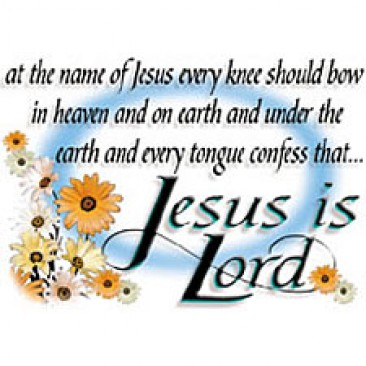 Jesus is a Lord is a name on earth and Heaven