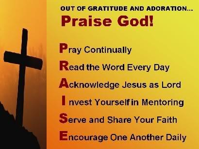 praise God pray to God!